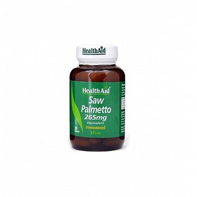 Health Aid SAW PALMETTO 265mg, 30 tablets