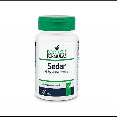 Doctor's Formulas Sedar 600mg Αγχολυτική Ισχυρή Φόρμουλα για την αντιμετώπιση της Αϋπνίας, 60 tabs