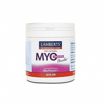 LAMBERTS MYO-INOSITOL POWDER 200GR