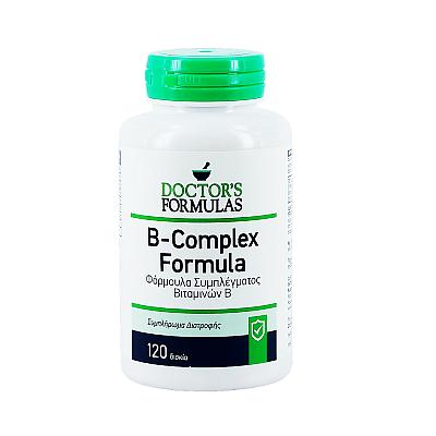 Doctor's Formulas Vitamin B Complex Φόρμουλα Συμπλέγματος Βιταμινών B, 120 caps