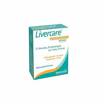 Health Aid LIVERCARE - Herbal Liver Detox, 60tablets