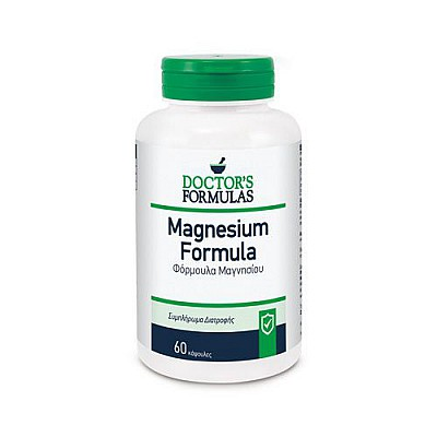 Doctor's Formulas Magnesium 500mg Φόρμουλα με Μαγνήσιο, 60 tabs