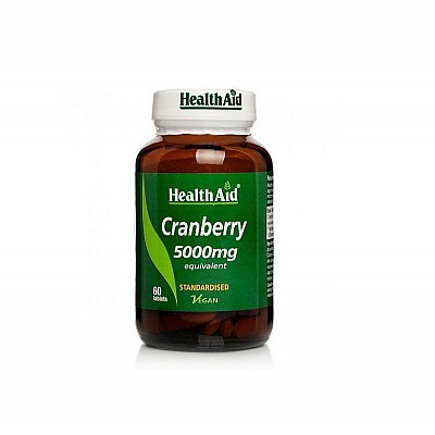 Health Aid CRANBERRY 5000mg, 60 tablets