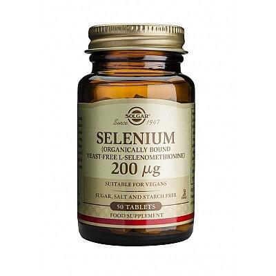 Solgar Selenium 200mg, 50tabs