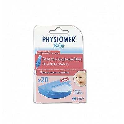 Physiomer Baby Προστατευτικά Φίλτρα Μιας Χρήσης 20 τεμάχια