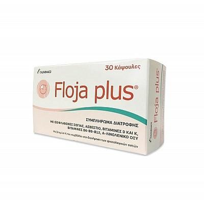 Floja Plus 30 Κάψουλες - Συμπλήρωμα Διατροφής Για Την Αντιμετώπιση Των Συμπτωμάτων Της Εμμυνόπαυσης
