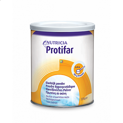 Nutricia Protifar Υπερπρωτεϊνικό Θρεπτικό Σκεύασμα σε μορφή σκόνη, 225gr
