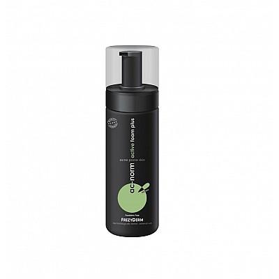 Frezyderm AC Norm Active Foam Plus Ενεργός Αφρός Καθαρισμού & Περιποίησης για το Λιπαρό Δέρμα με Τάση Ακμής, 150ml