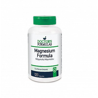 Doctor's Formulas Magnesium 500mg Φόρμουλα με Μαγνήσιο, 120 tabs