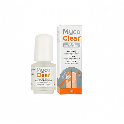 Myco Clear Solution For Nail Fungus, 4ml