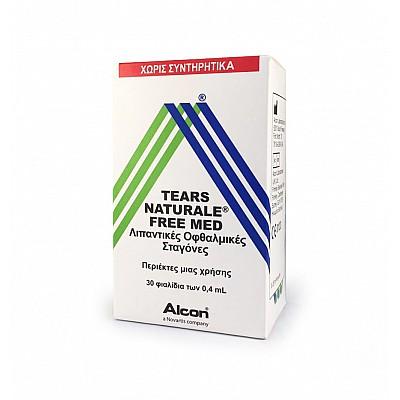 Alcon Tears Naturale II Med Λιπαντικές Οφθαλμικές Σταγόνες 30 φιαλίδια των 0,4ml