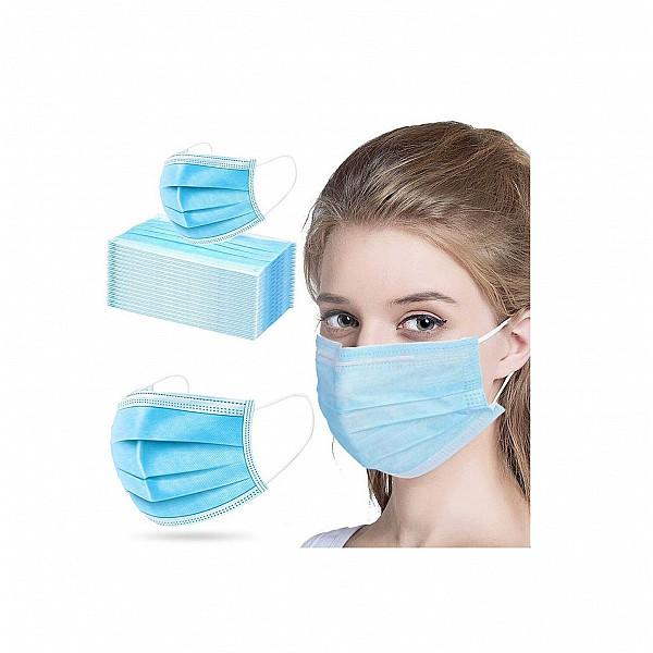 Μάσκα  Χειρουργική Donex  3ply -Earloop , 50 τμχ