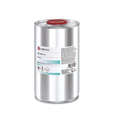 Chemco Acetone Καθαρή Ακετόνη 1000ml