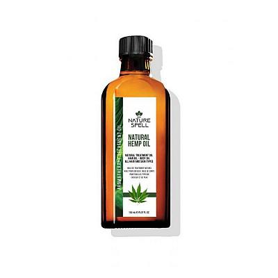 Nature Spell Natural Hemp Oil - 150ml