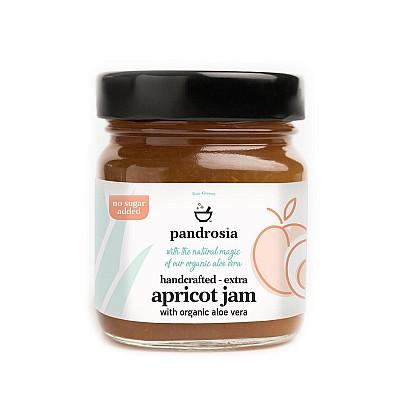 Pandrosia Extra apricot jam with organic aloe 240gr