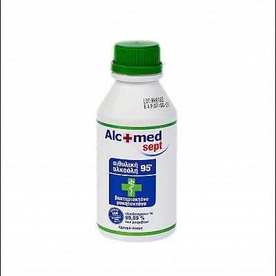 Alcofarm Alcomed Sept Alcohol 95 ° Agricultural Origin 250ml