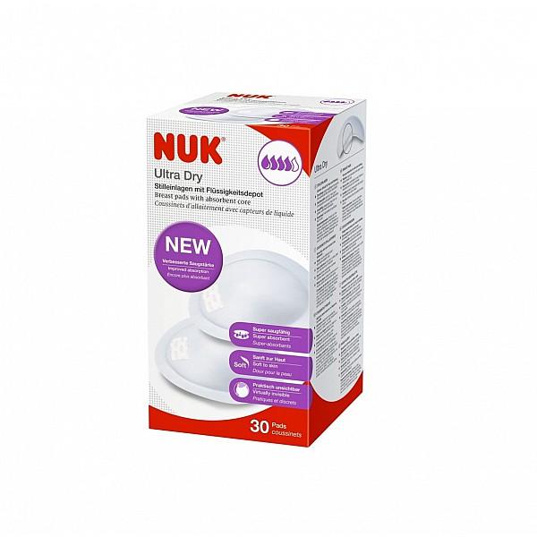Nuk Ultra Dry Comfort Επιθέματα Στήθους 30 Τεμάχια