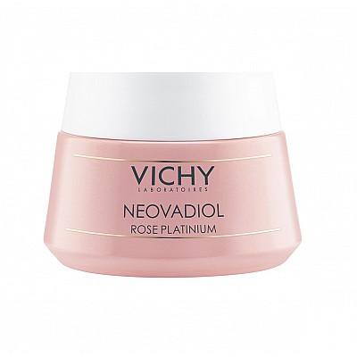 Vichy Neovadiol Rose Platinium Κρέμα Φροντίδας της Επιδερμίδας από την Εμμηνόπαυση & μετά, 50ml