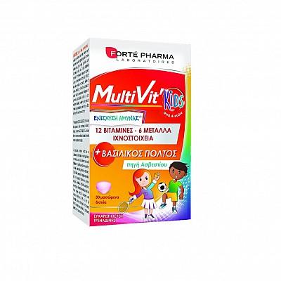 FORTE PHARMA - MultiVit Kids - 30chew.tabs