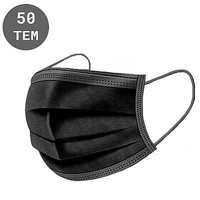 50pcs Black Surgical Mask