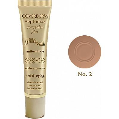 Coverderm Peptumax Concealer plus spf50+ No 2 - 10ml