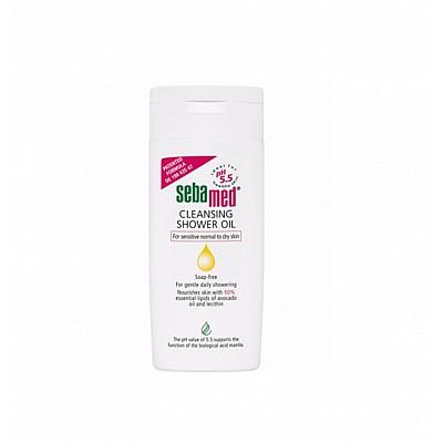 SEBAMED Emollient - Cleansing Shower Oil Ενυδατικό, αναλιπαντικό, αντικνησμώδες λάδι για το μπάνιο, 200ml
