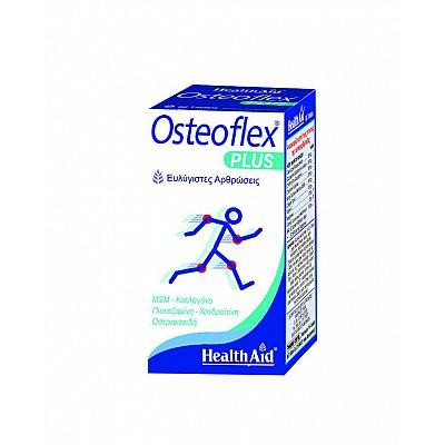 Health Aid OSTEOFLEX PLUS Glucosamine - Chondroitin - MSM - Collagen, 60 tablets