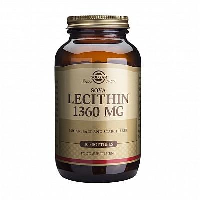 Solgar Lecithin 1360mg 100 caps