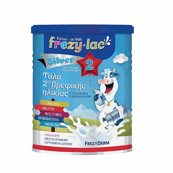 Frezylac Silver 2 Αγελαδινό Γάλα σε Σκόνη 6 - 12 μηνών, 400gr