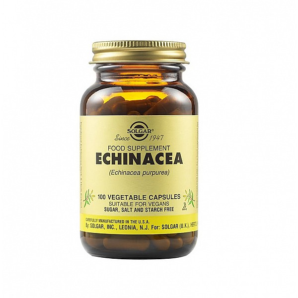 Solgar Echinacea 100 φυτικές κάψουλες