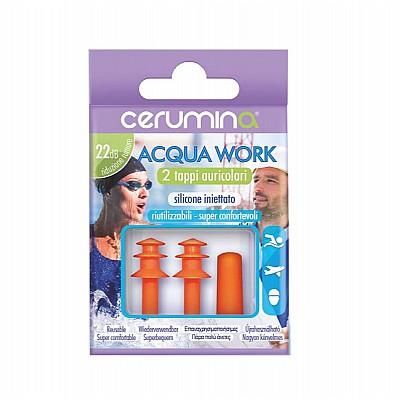 Cerumina Acqua Work Silicone Earplugs 2pcs