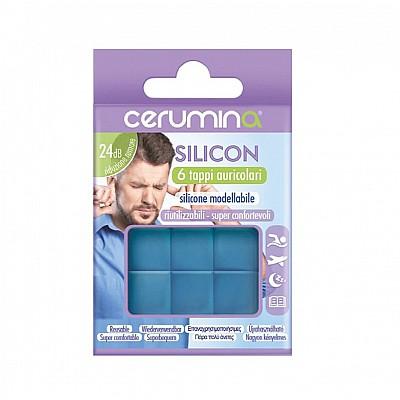 CERUMINA Silicon Waterproof Earplugs 6 Pieces