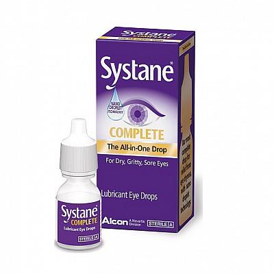 Systane Complete Λιπαντικές Σταγόνες για Ανακούφιση από τη Ξηροφθαλμία, 5ml