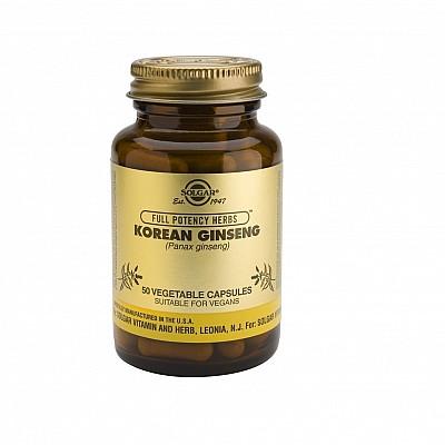 Solgar Ginseng Korean 520mg 50 φυτικές κάψουλες