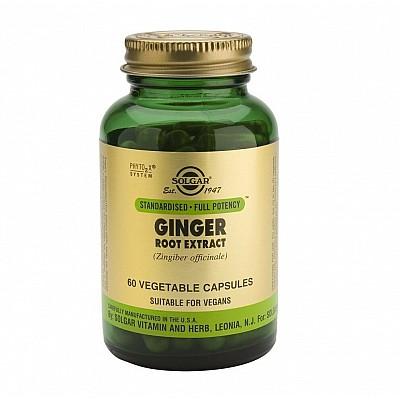 Solgar SFP Ginger Root Extract 60 veg. caps
