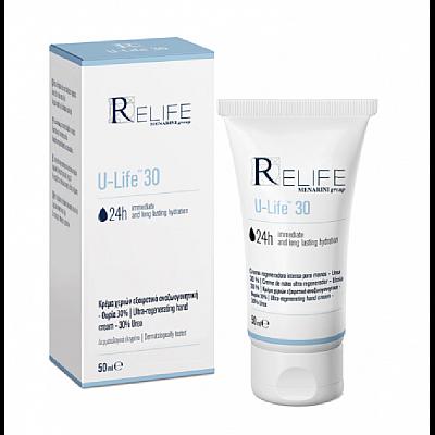 Menarini ReLife U-Life 30 24h Immediate Long Lasting Hydration Cream 50ml