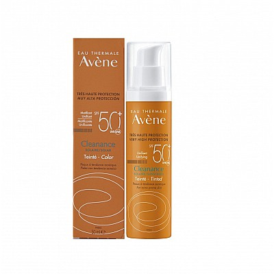 Avene Cleanance Very High Protection Unifying Tinted Sunscreen SPF50+ 50ml