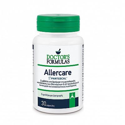 Doctor's Formulas Allercare Φυσιολογική Λειτουργία του Βλεννογόνου & του Ανοσοποιητικού 30 κάψουλες