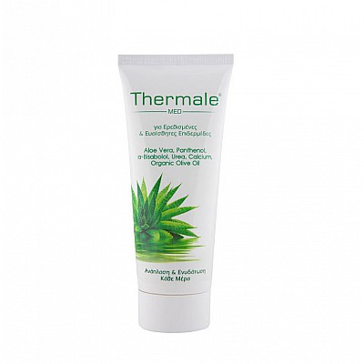 Thermale Med Aloe Vera Body and Face Cream for Irritated and Sensitive Skin, 200ml