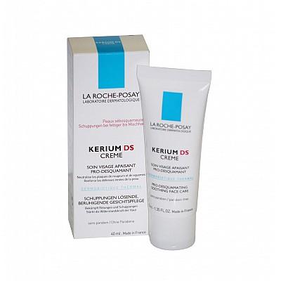 La Roche Posay Kerium DS Creme-Κρέμα κατά των ερεθισμών και της απολέπισης στο πρόσωπο, 40ml
