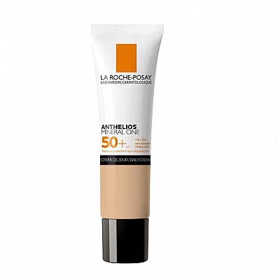 La Roche Posay Anthelios Mineral One Daily Cream SPF50+ Αντηλιακή Ενυδατική Κρέμα Προσώπου Με Χρώμα Tan 03, 30ml