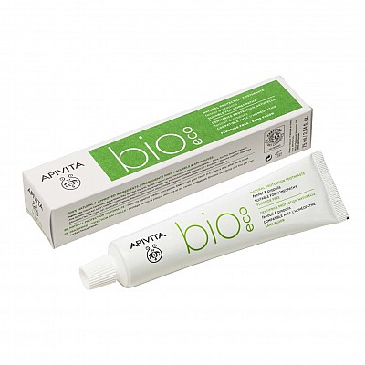 APIVITA Natural Dental Care BIO-ECO, Natural Protection Toothpaste with Fennel & Propolis, 75ml