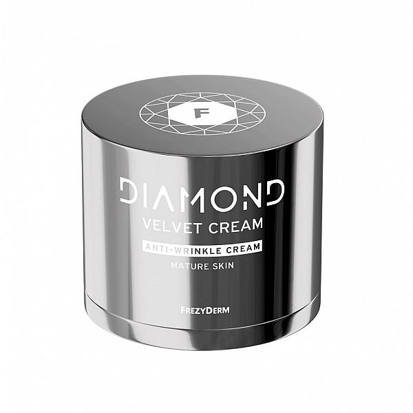Frezyderm Diamond Velvet Anti - Wrinkle Cream, Αντιρυτιδική - Συσφικτική Κρέμα Για Ώριμα Δέρματα, 50ml