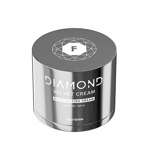 Frezyderm Diamond Velvet Moisturizing Cream, Κρέμα Ισχυρής Ενυδάτωσης Για Ώριμα Δέρματα, 50ml