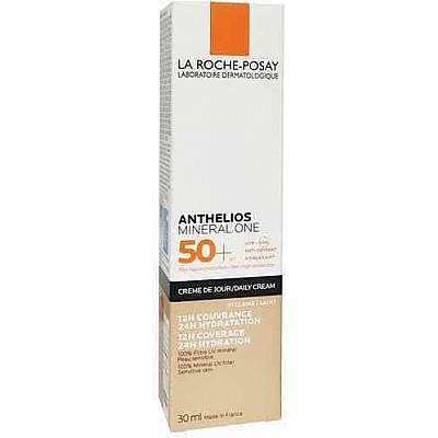 La Roche Posay Anthelios Mineral One Daily Cream SPF50+ Αντηλιακή Ενυδατική Κρέμα Προσώπου Με Χρώμα Light 01, 30ml