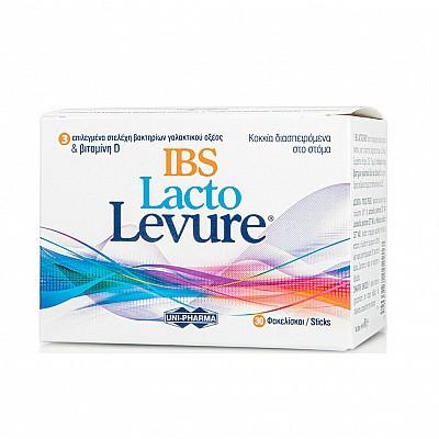 UniPharma Lacto Levure IBS Συμπλήρωμα Προβιοτικών για Άτομα με Σύνδρομο Ευερέθιστου Εντέρου, 30 Φακελίσκοι