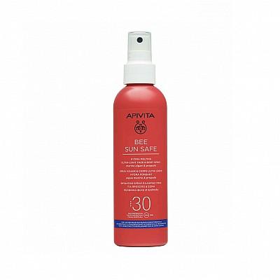 Apivita Bee Sun Safe Hydra Melting Ultra Light Face & Body Spray SPF30 200ml