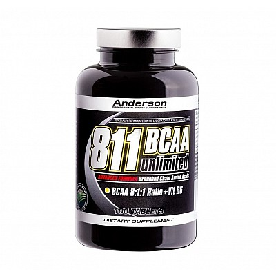 Anderson 811 BCAA Unlimited 100 tablets