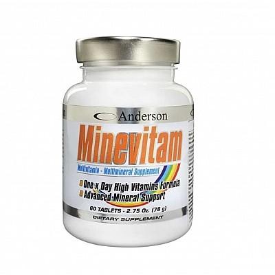 ANDERSON / MINEVITAM MULTIVITAMINS 60CPR 78GR