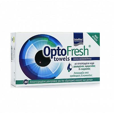 Intermed Optofresh Towels, 20pcs